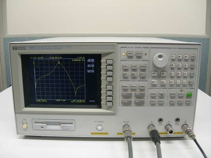 Agilent/HP 4395A Network Analyzer 網路分析儀