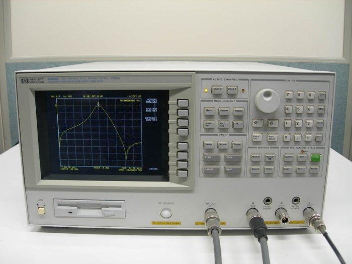 (繁體中文) Agilent/HP 4395A Network Analyzer 網路分析儀