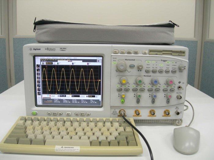 (繁體中文) Agilent 54815A 500MHz 4Ch 1GS/s Infiniium Oscilloscope 數位示波器